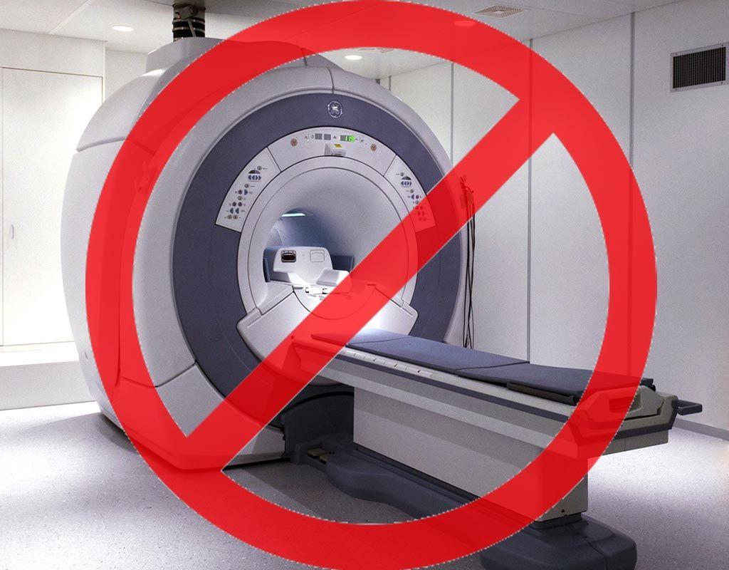 Обследование на томографе запрещено!