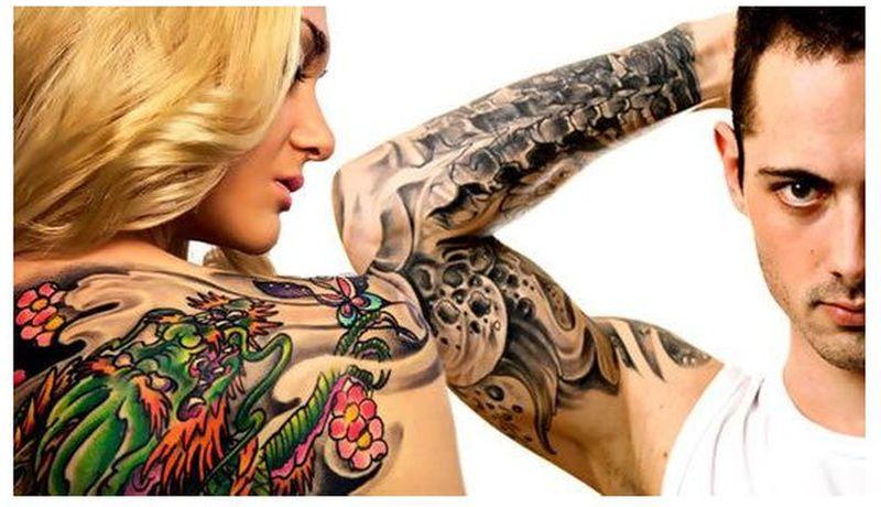 Люди с татуировками