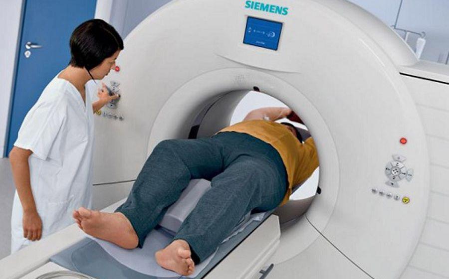 Процедура обследования на томографе