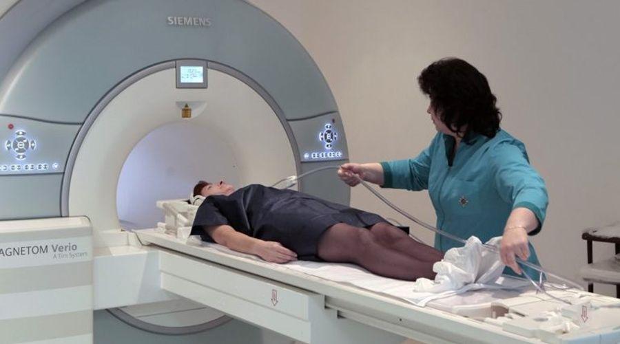 Проведение исследования желчевыводящей системы на томографе