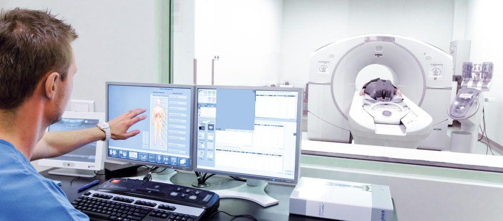 Процесс обследования пациента