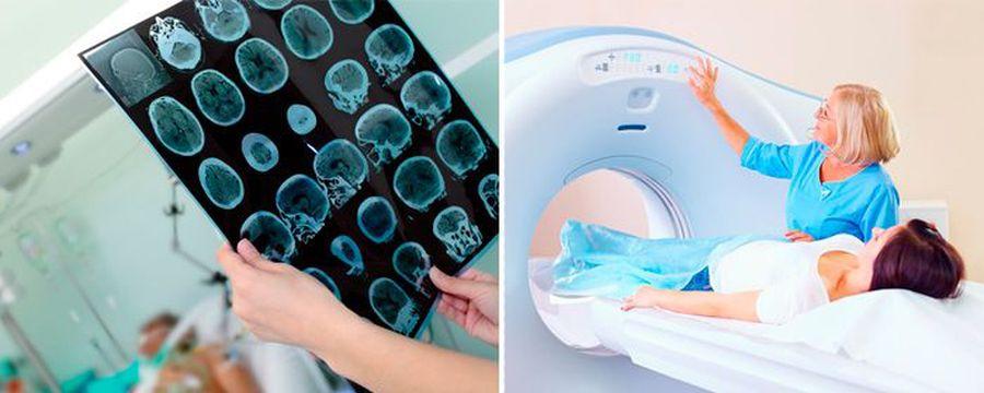 Процесс и результат обследования пациента
