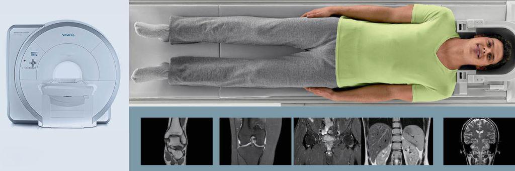 Полное обследование человека с помощью томографа