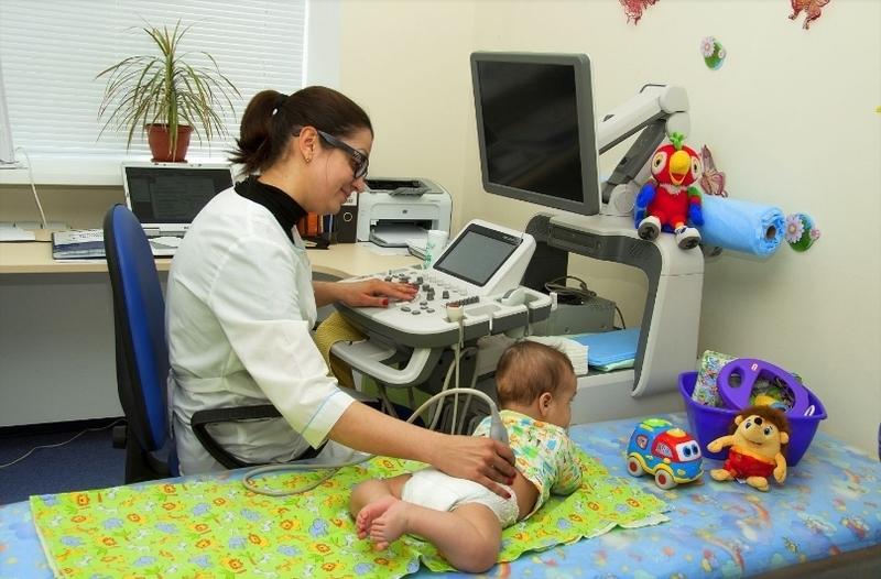 Проведение обследования ребенку